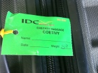 Checked baggage to Coetivy